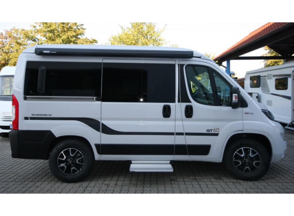 hymercar hymercar sydney gt white line als kastenwagen in. Black Bedroom Furniture Sets. Home Design Ideas